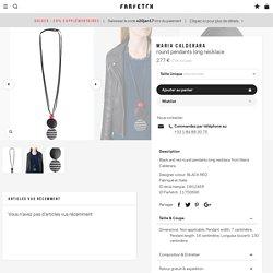 Maria Calderara Round Pendants Long Necklace - Farfetch