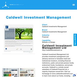 Caldwell Investment Management - New Design Group Inc.
