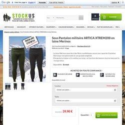 Calecon militaire XTREM200 ARTICA en laine Merinos - surplus militaire - stock us - Stock US