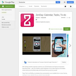 ZenDay | To-do + Calendar - Applications Android sur Google Play