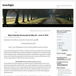 Maya Calendar Horoscope for May 24 – June 5, 2012