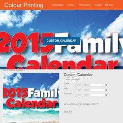 2016 Custom Calendar - NJPrintandWeb