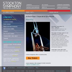 Calendar of Events - Stockton Symphony