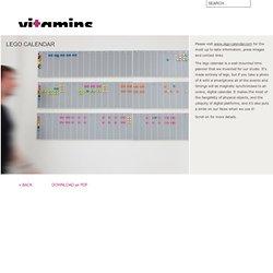 Vitamins, Design and Invention Studio, London