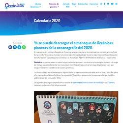 Calendario 2020 - Oceánicas