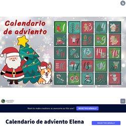 Plantilla Genially Reutilizable - Calendario de adviento by Elena Nubes