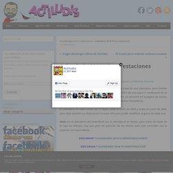 Calendario 2014/15 con estaciones - Actiludis