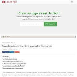 Cómo crear un calendario gratuito para imprimir: revisión de Logaster