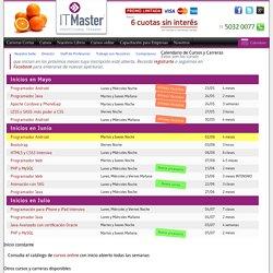 Calendario de Cursos y Carreras en Buenos Aires - ITMaster Professional Training