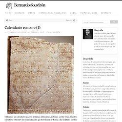 Calendario romano (I)