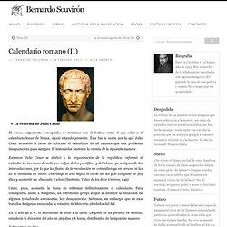 Calendario romano (II)