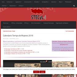 Calendario Tiempo de Mujeres 2019 - Stecyl-i