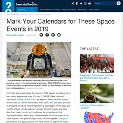 Mark Your Calendars for These Space Events in 2019