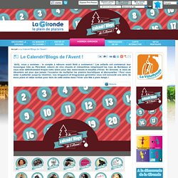 Le Calendri'Blogs de l'Avent ! / evenement