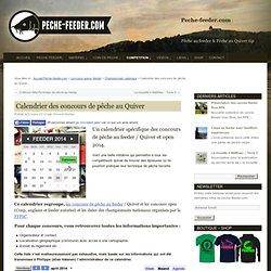 Calendrier des concours de pêche au Quiver