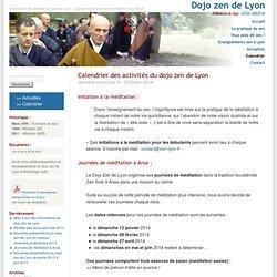 Dojo zen de Lyon