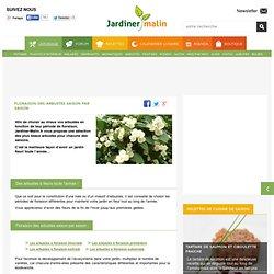 Floraison des arbustes saison par saison