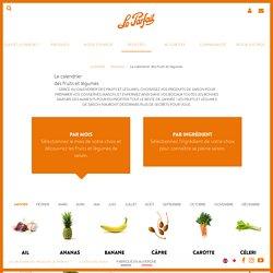 Le Calendrier fruits et légumes de saison