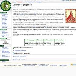 Calendrier Gregorien Geneawiki Genealogie Pearltrees