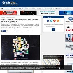 Agfa crée son calendrier imprimé 2016 en réalité augmenté