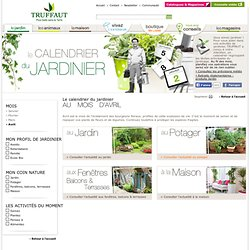 Calendrier du jardin pearltrees for Conseil jardinage