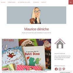Calendrier de l'Avent littéraire jeunesse – Maurice déniche