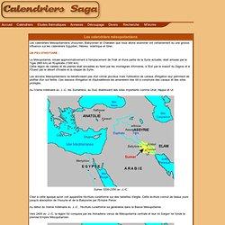 calendrier MESOPOTAMIENS
