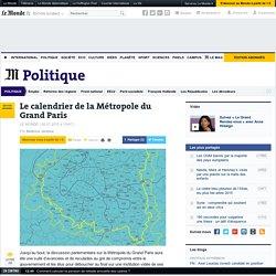 Le calendrier de la Métropole du Grand Paris