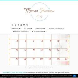 Un calendrier de l'Avent fait maison c'est bien, mais que mettre dedans ? - Maman Poussinou