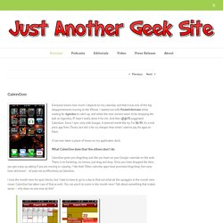 CalenGoo ‹ Just Another Geek Site