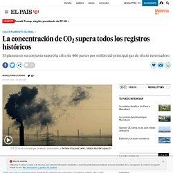 Calentamiento global: La concentración de CO 2 supera todos los registros históricos