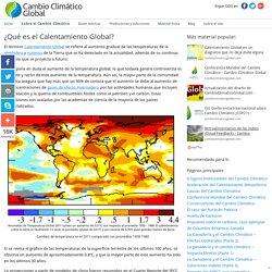 ¿Qué es el Calentamiento Global? - Cambio Climático Global