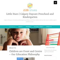 About Little Stars Calgary Daycare and Preschool