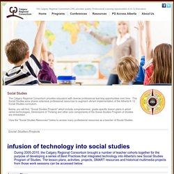 Calgary Regional Consortium, Social Studies