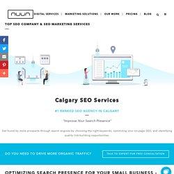 #1 Top Ranking SEO Company in Calgary