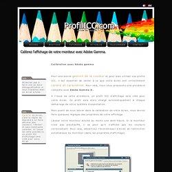 Calibration - Gestion des couleurs, création de profil ICC