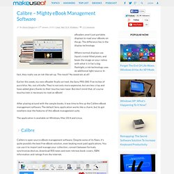 Calibre – eBook Management & Synchronization Software (Multi-OS)
