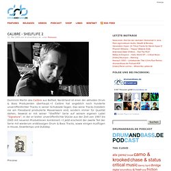 Calibre – Shelflife 2 | drumandbass.de - Drum and Bass Music Blog