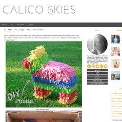 52 Week Challenge: #13 DIY Piñata