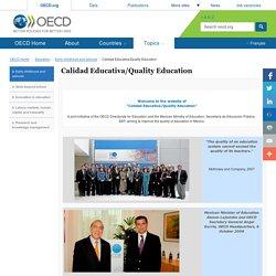 Calidad Educativa/Quality Education