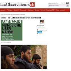 Islam - Le Califat allemand c'est maintenant
