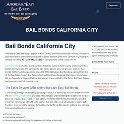 Bail Bonds California City