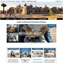 Cal-Earth - The California Institute of Earth Art and Architecture