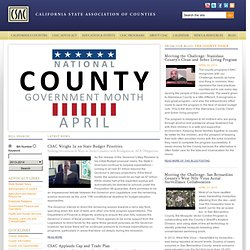California State Association of Counties
