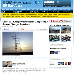 California Energy Commission Adopts New Battery Charger Standards