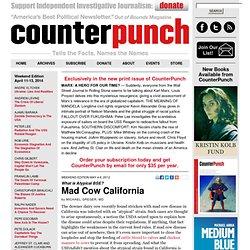 Mad Cow California