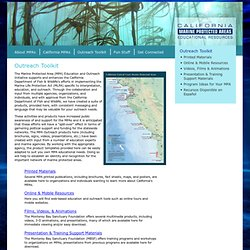 California MPA Educational Resources: Outreach Toolkit