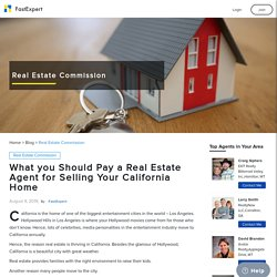 What is the Average Real Estate Commission in California?