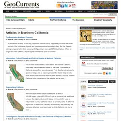 Northern California - GeoCurrents