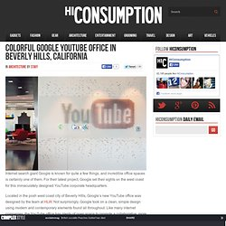 youtube beverly hills office. Colorful Google YouTube Office In Beverly Hills, California Youtube Hills L